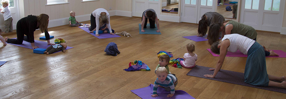 parent and mobile baby yoga 1